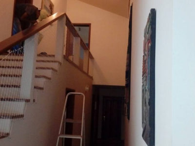 Rede de Proteção para Escada